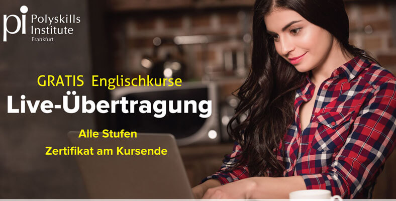 free ebglish course frankfurt new